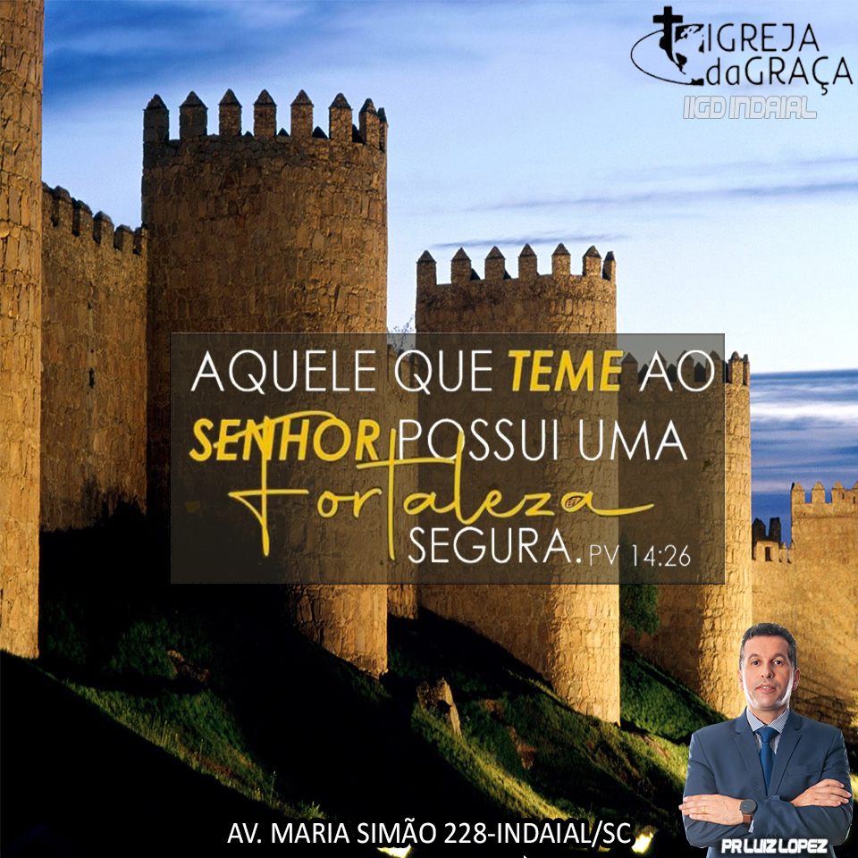 Pr. Luiz Lopez | Deus é nossa Fortaleza |